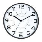 Zegar ścienny czarny Pop Unilux