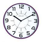 Zegar ścienny fioletowy Pop Unilux