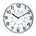 Zegar ścienny srebrny Pop Unilux